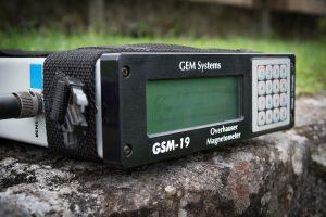GSM19 Overhauser Magnétomètre.