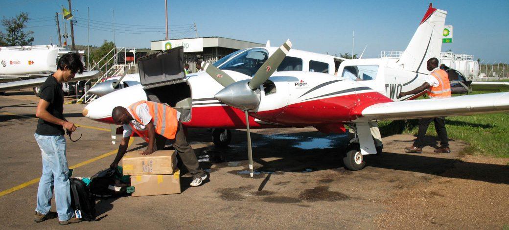 Nos équipes interviennent partout! aéroport de Mwanza -Tanzanie