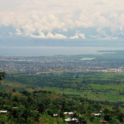 Vue sur Bujumbura, Grand Rift Est Africain